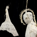 costume 6 - white lace and bones1